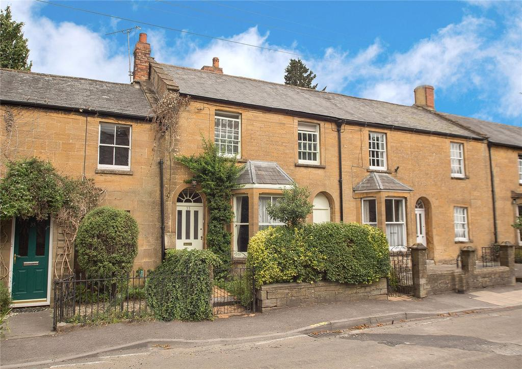 3 Bedrooms Terraced House for sale in North Street, Martock, Somerset