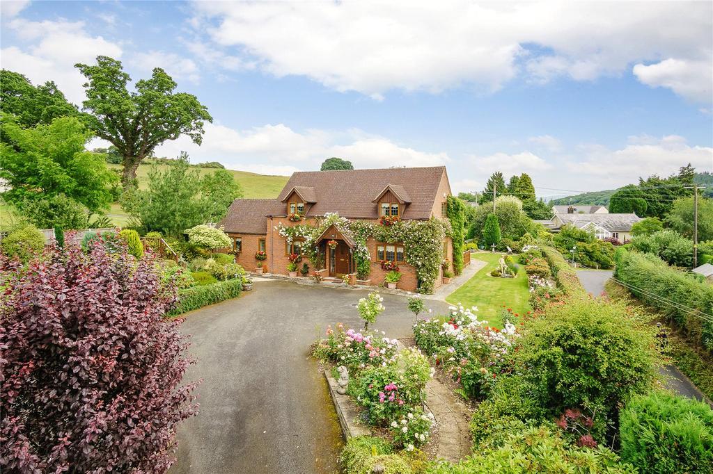 4 Bedrooms Detached House for sale in Dog Kennel Lane, Bucknell, Shropshire
