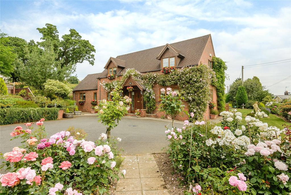 4 Bedrooms Detached House for sale in Dog Kennel Lane, Bucknell, Shropshire