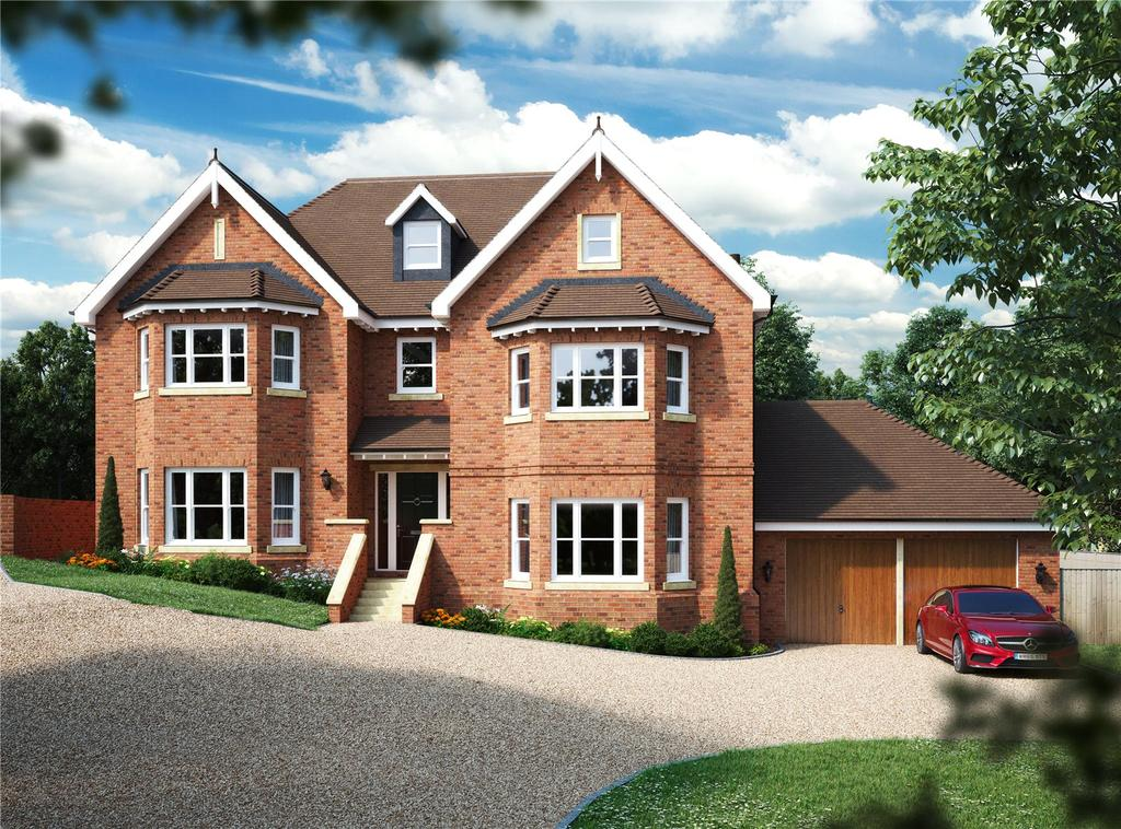 6 Bedrooms Detached House for sale in Falconers Down, Chalkways, Pilgrims Way, Kemsing, TN15