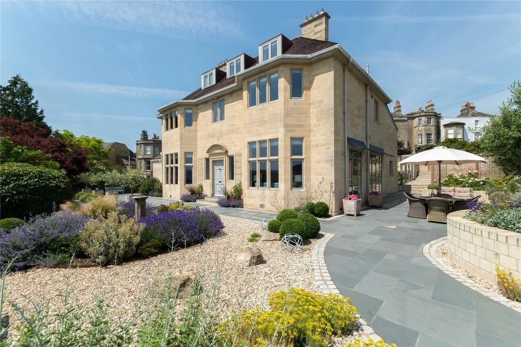 4 Bedrooms Detached House for sale in Sion Hill, Bath, BA1