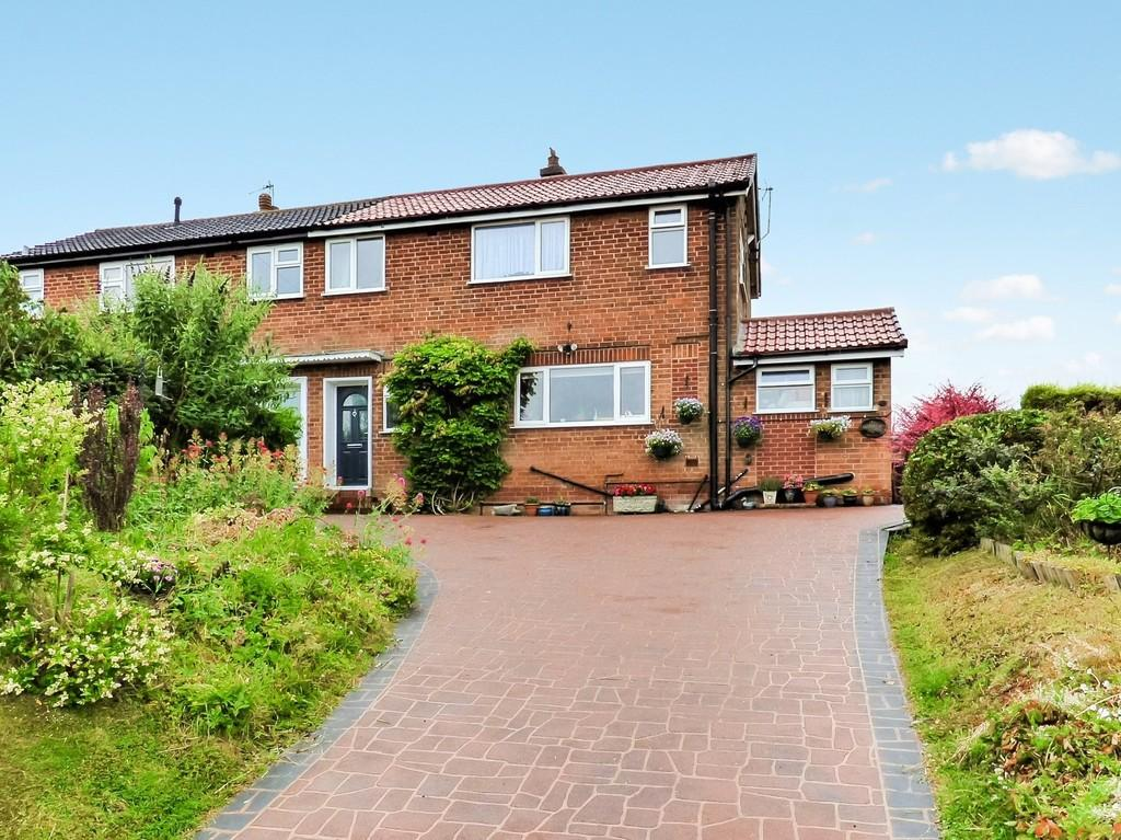 3 Bedrooms Semi Detached House for sale in Blythe View, Lichfield Road, Hamstall Ridware