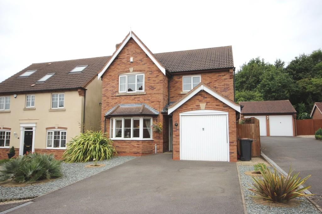 4 Bedrooms Detached House for sale in Amersham Way, Measham