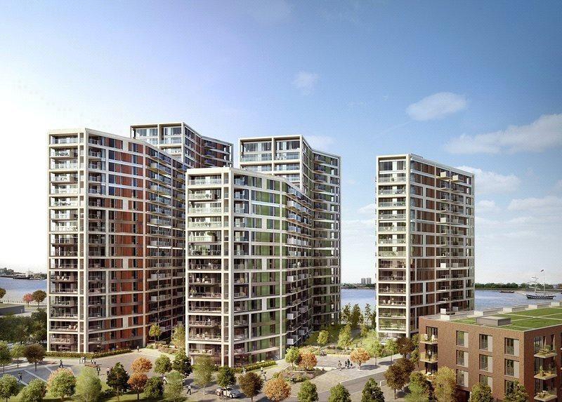 2 Bedrooms Flat for sale in Waterfront II, Royal Arsenal Riverside, Woolwich, London, SE18