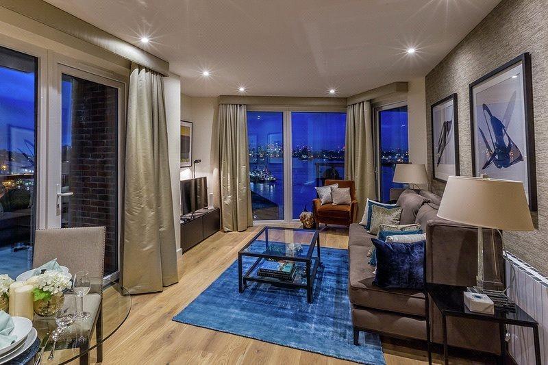 1 Bedroom Flat for sale in Waterfront III, Royal Arsenal Riversid, Woolwich, London, SE18