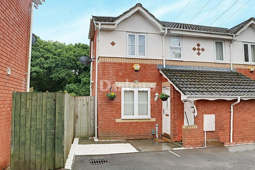 2 Bedrooms End Of Terrace House for sale in Clonakilty Way, Pontprennau, Cardiff