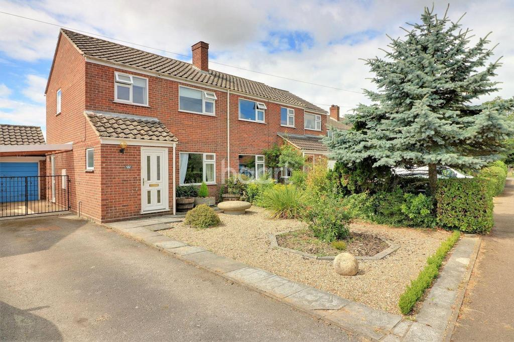 3 Bedrooms Semi Detached House for sale in Hingham