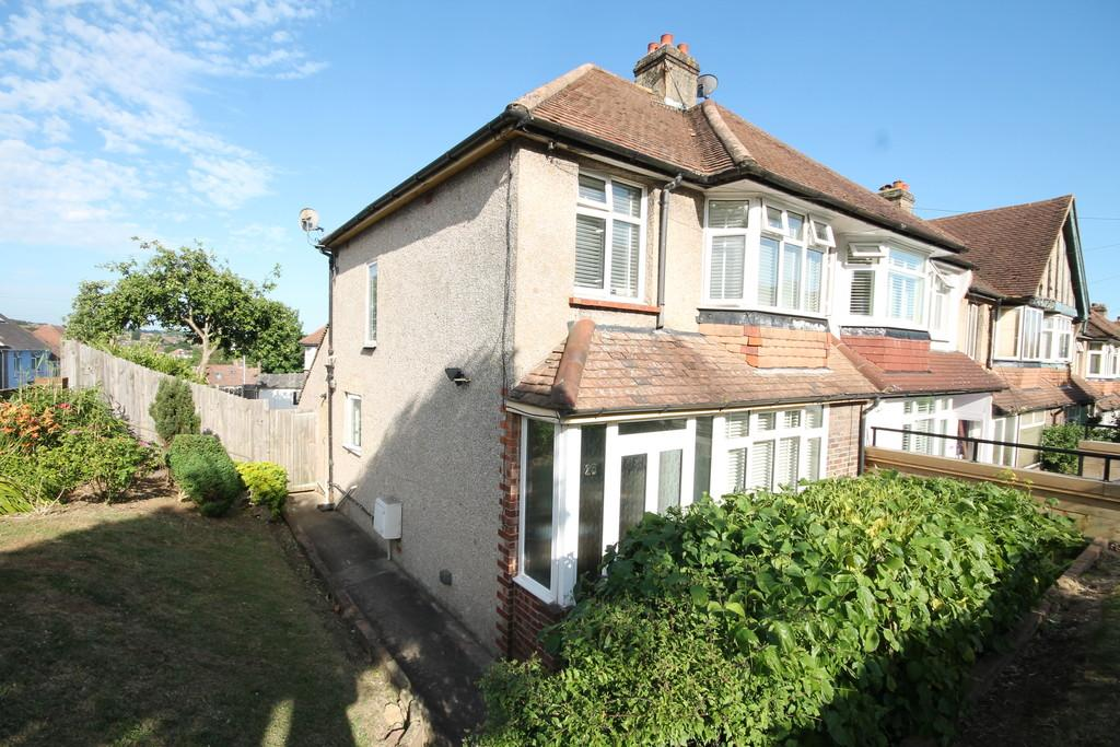 3 Bedrooms End Of Terrace House for sale in Fairway Crescent, Portslade, BN41 2DR