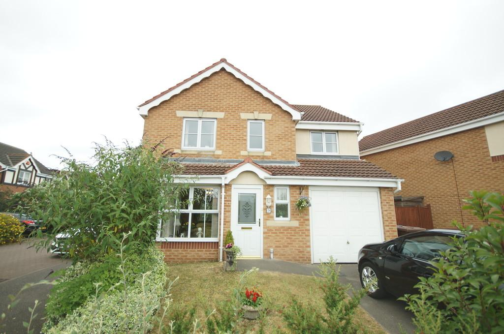 4 Bedrooms Detached House for sale in Anglesey Close, Lincoln