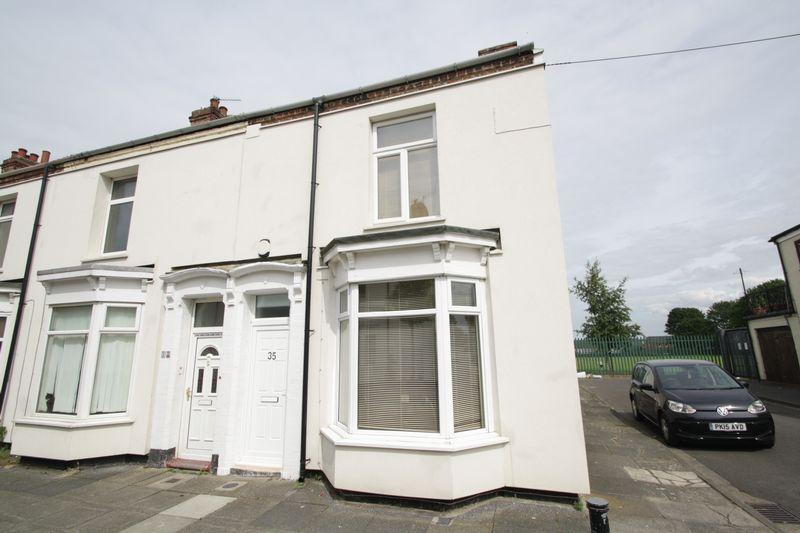 2 Bedrooms Terraced House for sale in St Cuthberts Road, Stockton, TS18 3JN