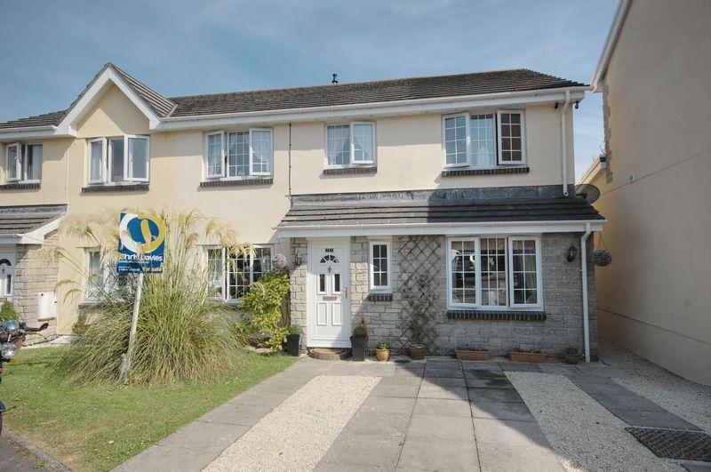 4 Bedrooms Semi Detached House for sale in 22 Heol Ger Y Felin, Llantwit Major, Vale of Glamorgan, CF61 2XA