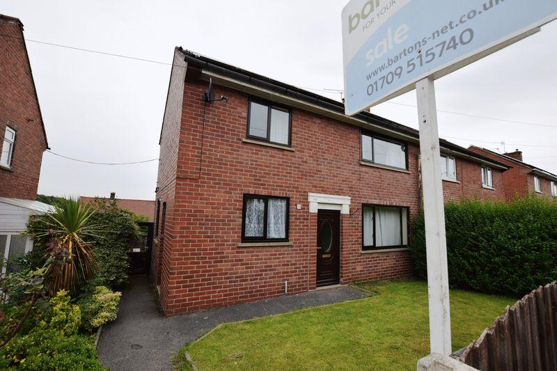3 Bedrooms Semi Detached House for sale in Cinderhill Road, Kimberworth Park, Rotherham