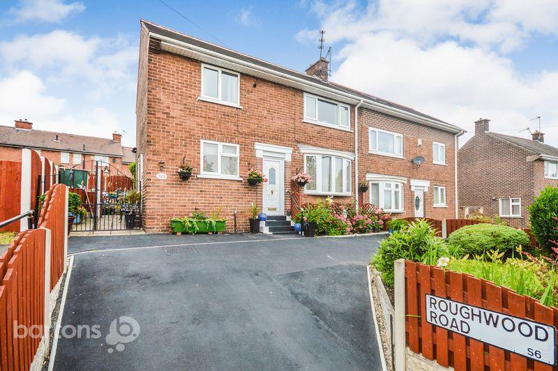 3 Bedrooms Semi Detached House for sale in Roughwood Road, Kimberworth Park, Rotherham