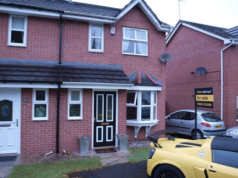 2 Bedrooms Semi Detached House for sale in Hollybank Close, Northwich, CW8 4GS