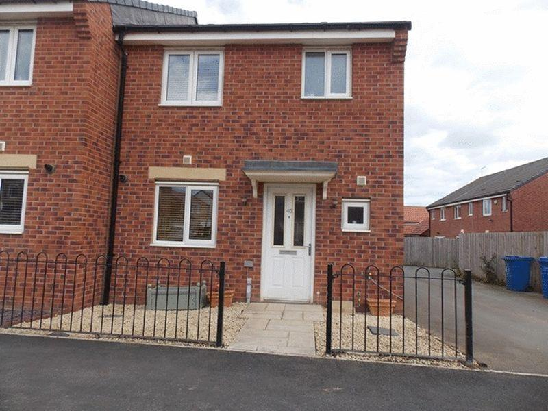 3 Bedrooms Semi Detached House for sale in Haggerston Road, Crofton Grange, Blyth