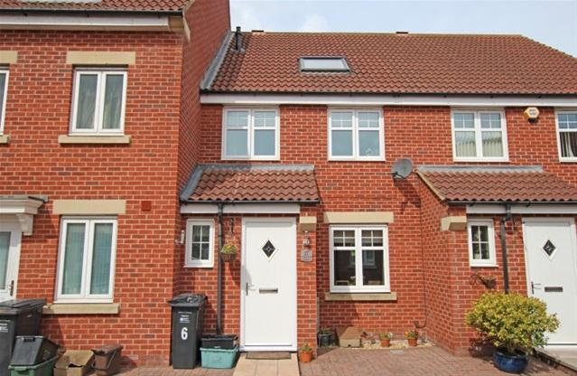 3 Bedrooms Terraced House for sale in Viscount Square, Bridgwater