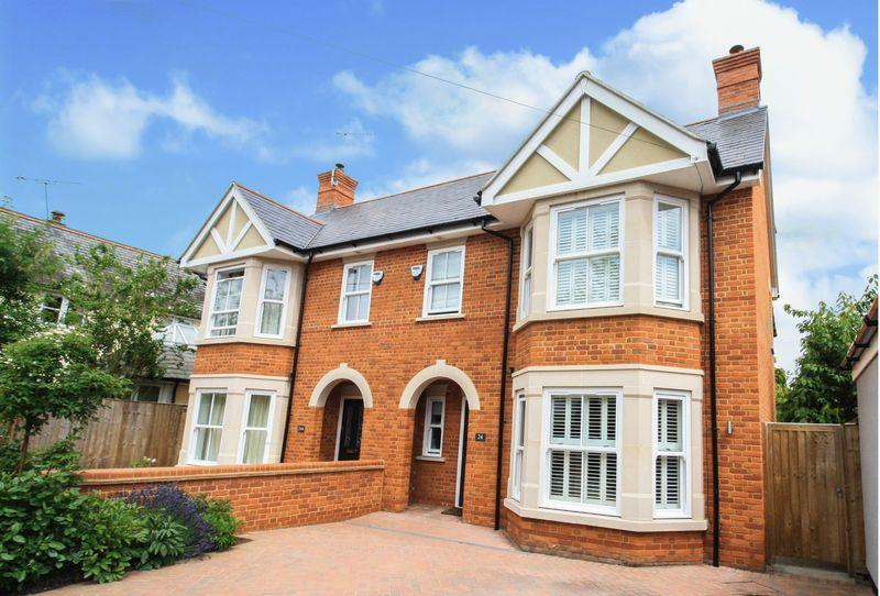4 Bedrooms Semi Detached House for sale in Claremont Gardens, Marlow