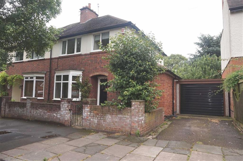 3 Bedrooms Semi Detached House for sale in Dovedale Road, Stoneygate, Leicester