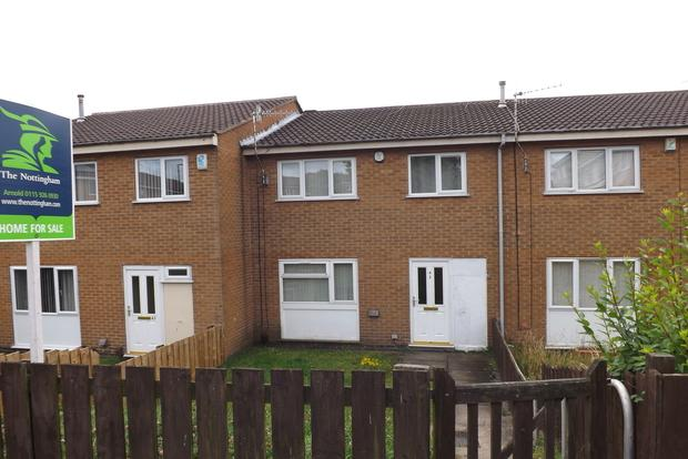 3 Bedrooms Terraced House for sale in Penllech Walk, Top Valley, Nottingham, NG5