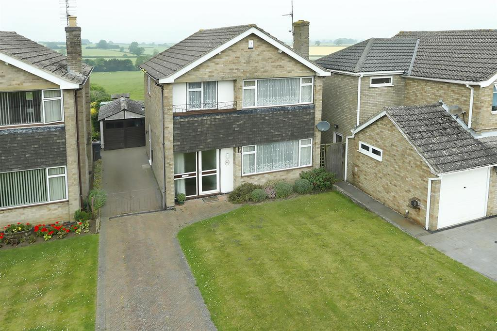 3 Bedrooms Detached House for sale in Wakefield Drive, Welford, Northampton