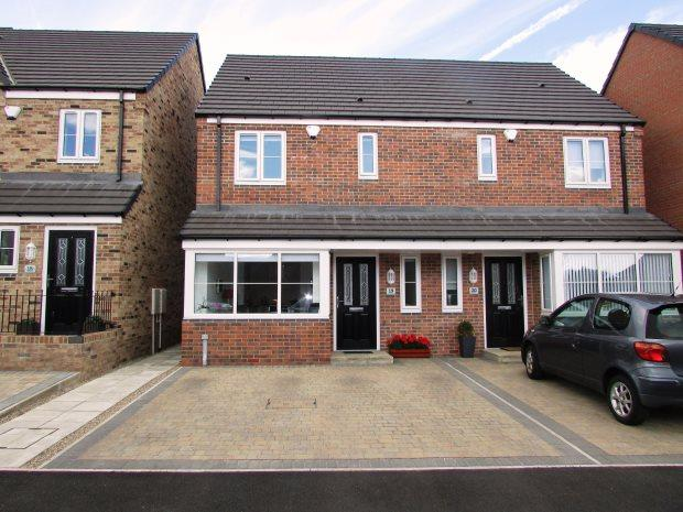 3 Bedrooms Semi Detached House for sale in TRINITY COURT, SEAHAM, SEAHAM DISTRICT