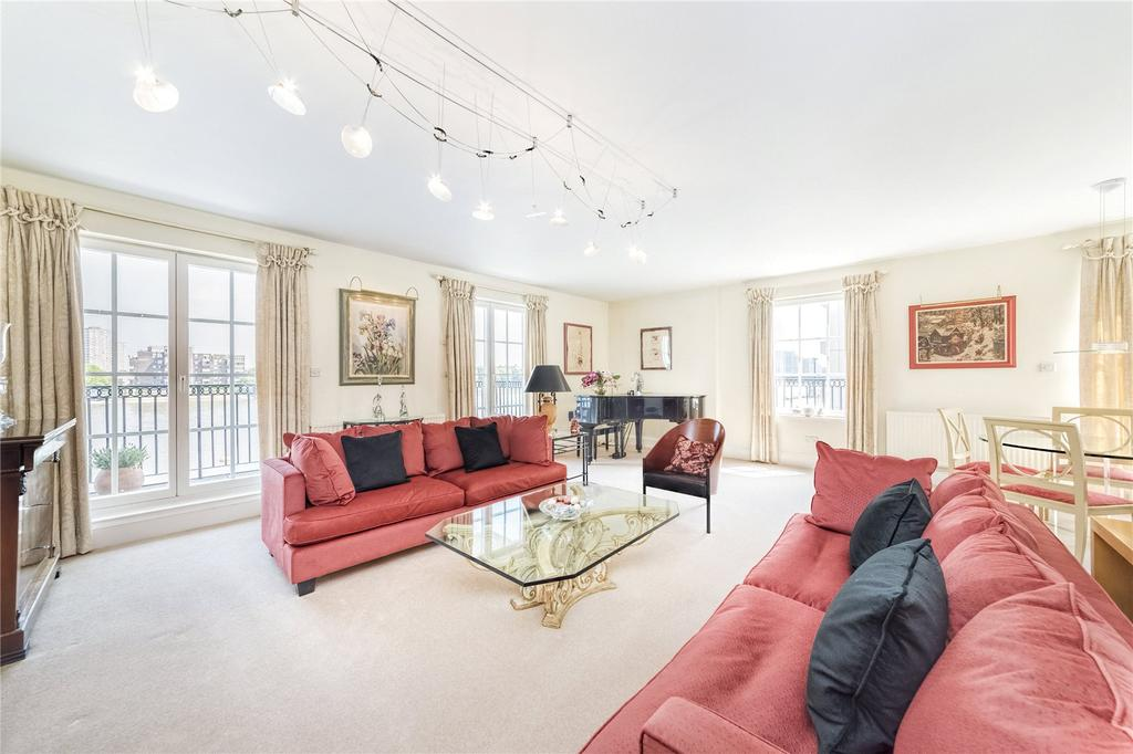 3 Bedrooms Flat for sale in Admiral Court, Admiral Square, Chelsea Harbour, London, SW10