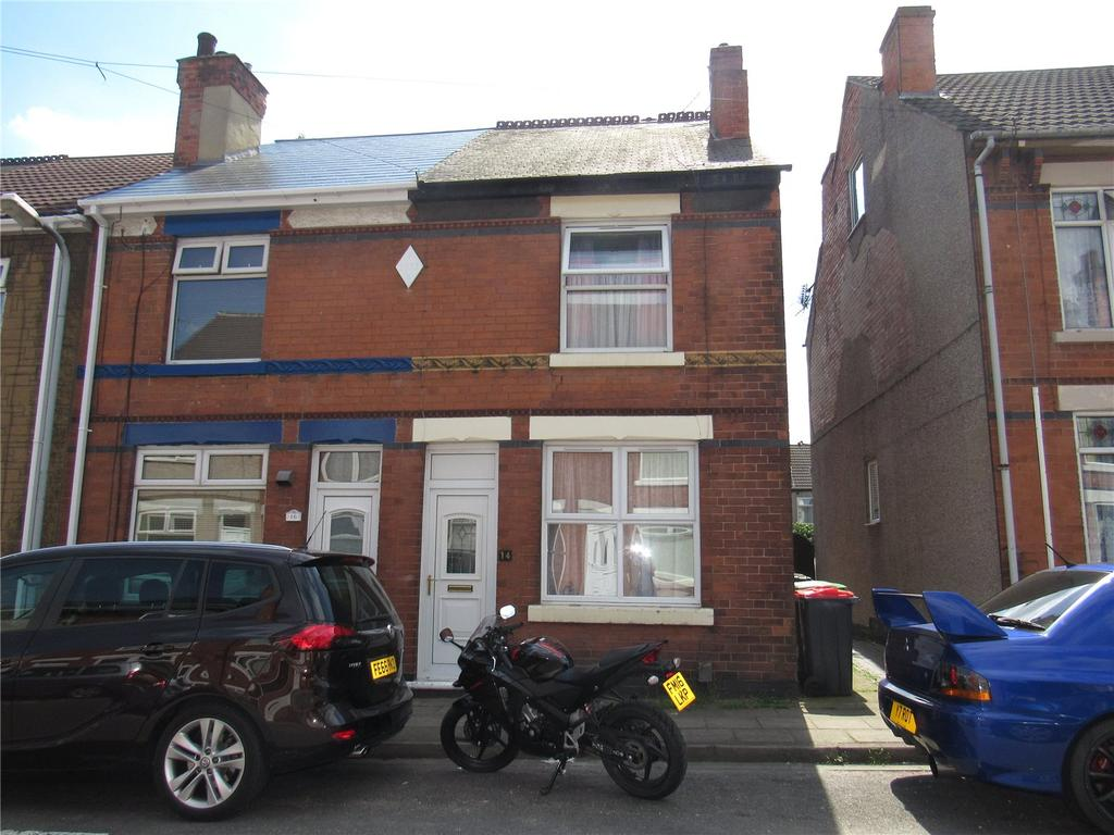 3 Bedrooms End Of Terrace House for sale in Oak Tree Road, Sutton In Ashfield, Nottinghamshire, NG17