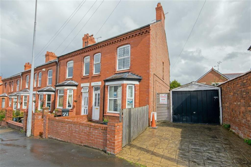 3 Bedrooms End Of Terrace House for sale in Mold Road, Connah's Quay, Deeside