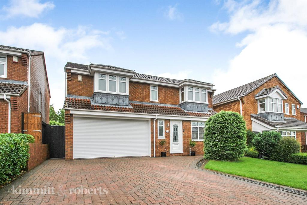 4 Bedrooms Detached House for sale in Trinity Park, Philadelphia, Houghton le Spring, Tyne and Wear, DH4