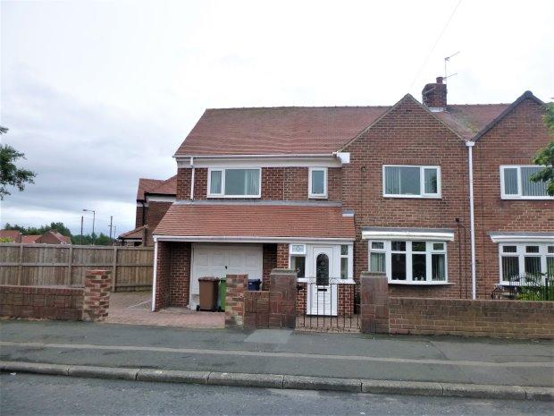 3 Bedrooms Semi Detached House for sale in HYLTON CASTLE ROAD, CASTLETOWN, SUNDERLAND NORTH