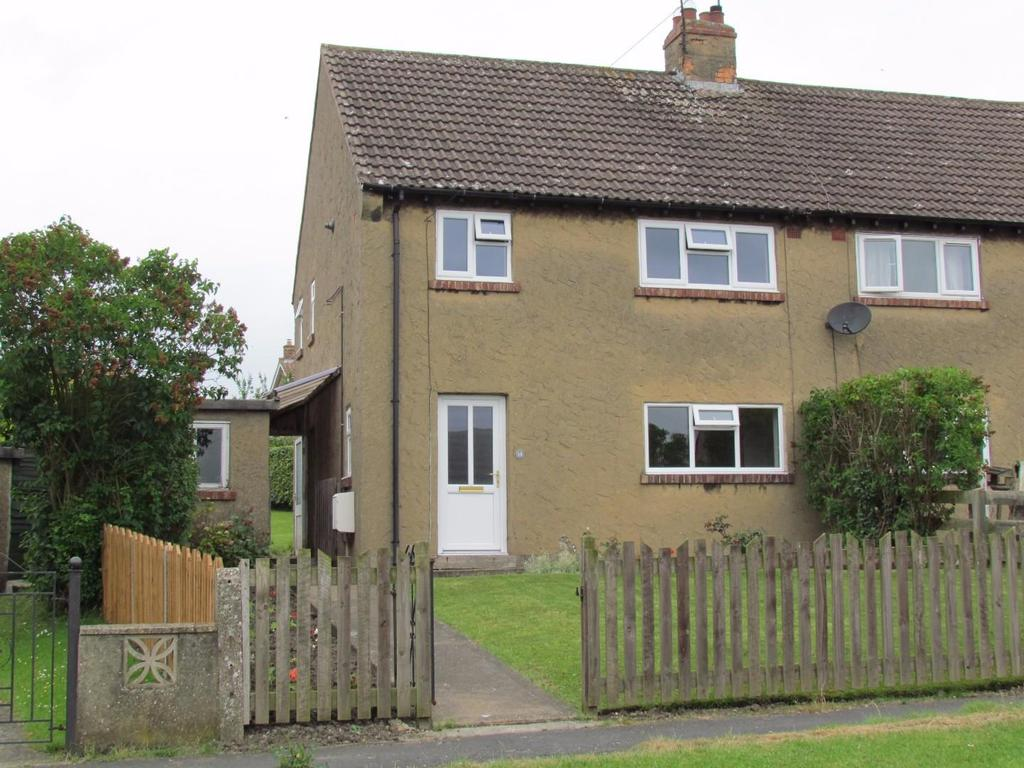 3 Bedrooms Semi Detached House for sale in Castle Garth, Thornton Dale, Pickering
