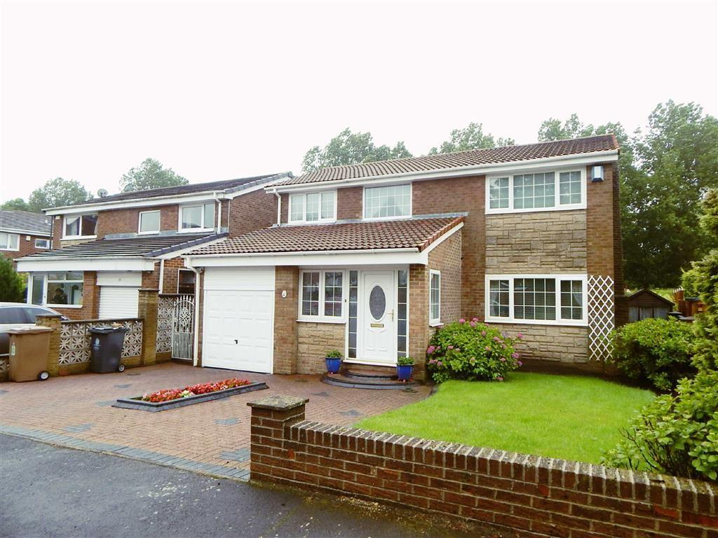 4 Bedrooms Detached House for sale in Wimslow Close, Wallsend, Tyne Wear, NE28