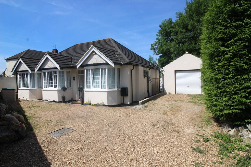 3 Bedrooms Detached Bungalow for sale in Kinfauns Avenue, Hornchurch, RM11