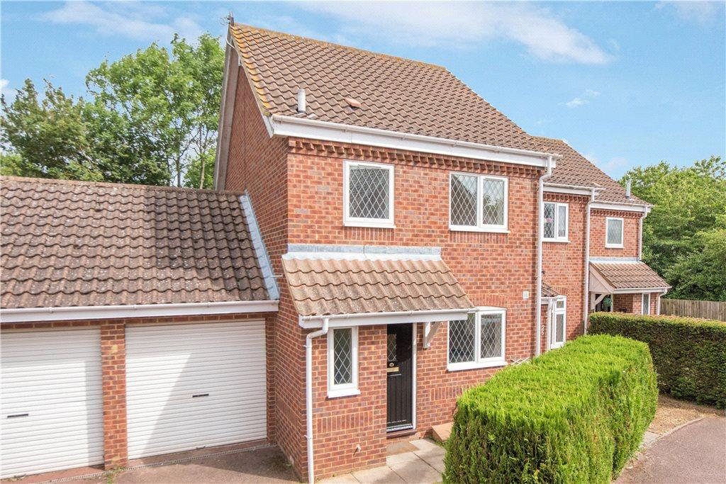 3 Bedrooms End Of Terrace House for sale in Pinsent Avenue, Bromham, Bedfordshire