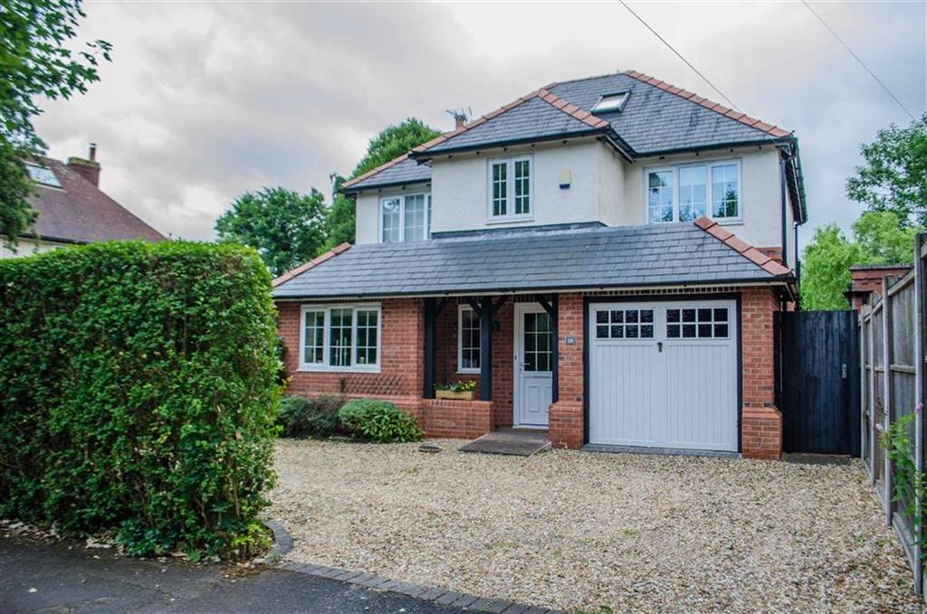 4 Bedrooms Detached House for sale in Park Road West, Curzon Park, Chester, Chester