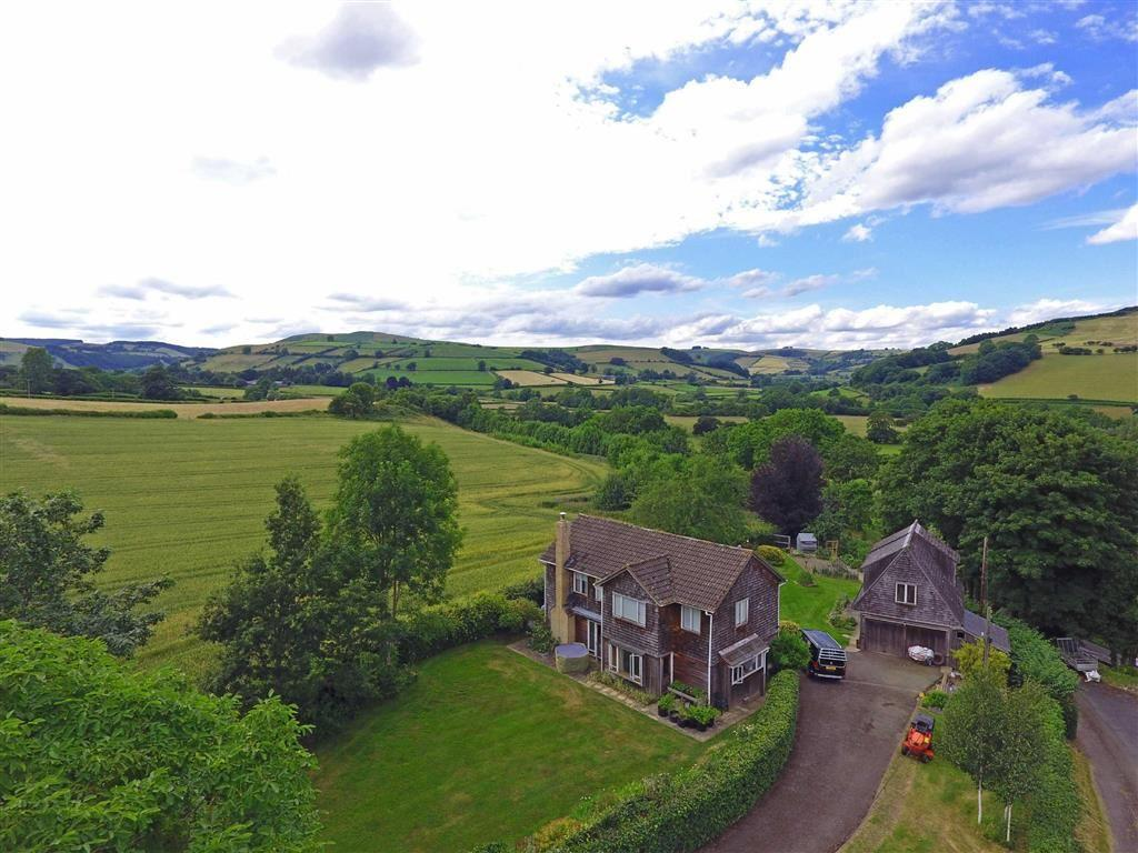 4 Bedrooms Detached House for sale in DISCOED. Nr PRESTEIGNE, Presteigne, Powys