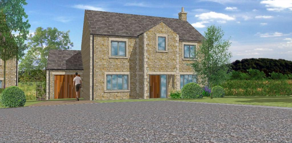 4 Bedrooms Detached House for sale in PLOT 5 - The Yarrow, The Meadows, Hornby, Lancashire, LA2 8JP