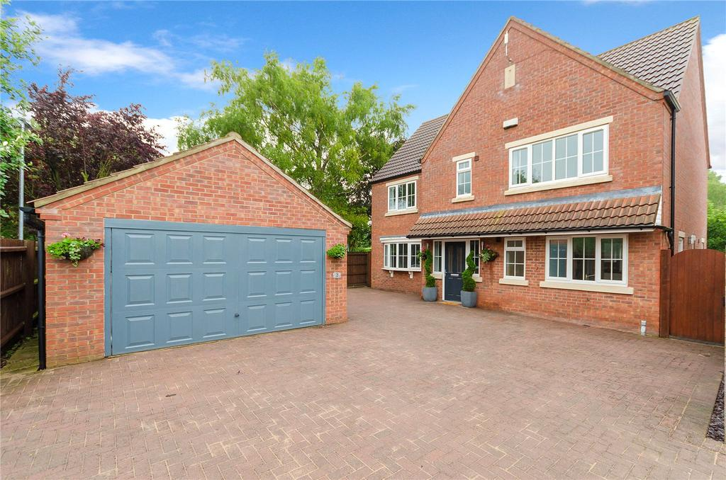 4 Bedrooms Detached House for sale in Vicarage Close, Digby, Lincoln, Lincolnshire, LN4