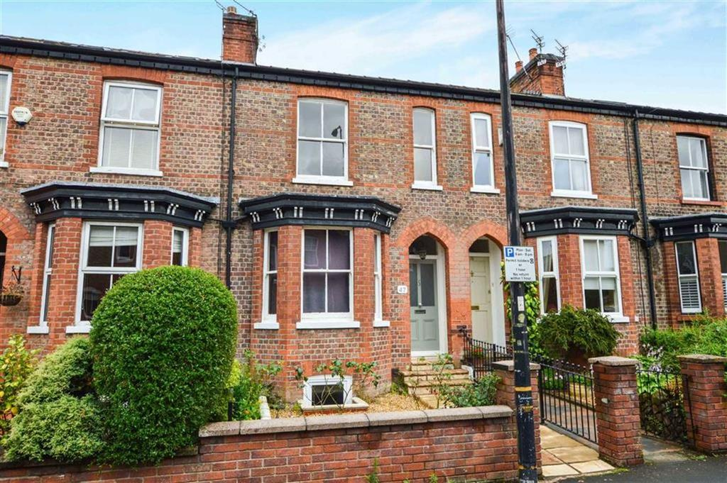 4 Bedrooms Terraced House for sale in Ashfield Road, Hale, Cheshire, WA15