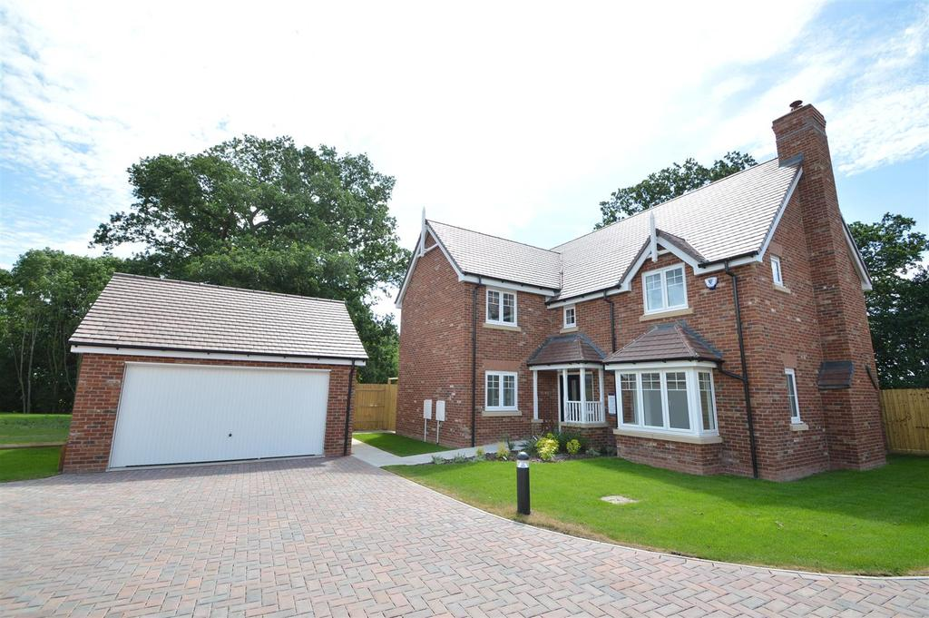 4 Bedrooms Detached House for sale in 17 Belvidere Park, Belvidere, Shrewsbury, SY2 5LW