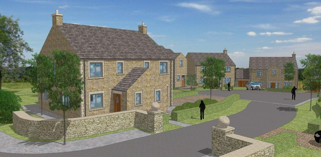 3 Bedrooms Semi Detached House for sale in PLOT 2 - The Daisy, The Meadows, Hornby, Lancashire, LA2 8JP