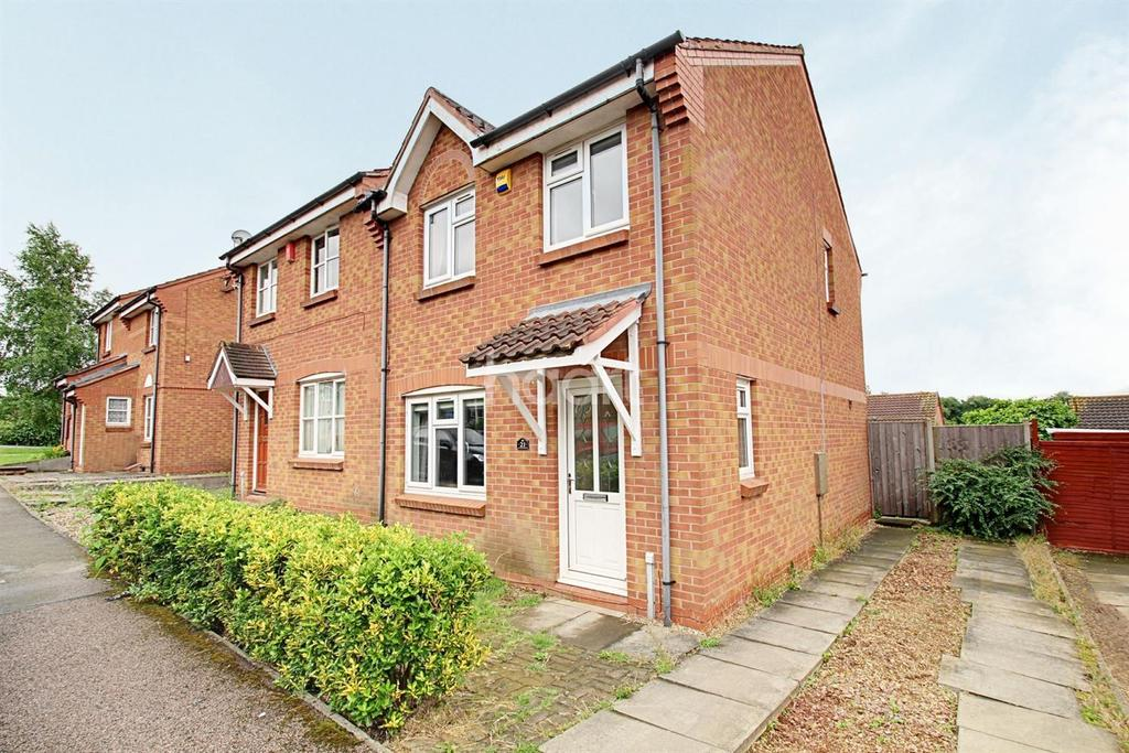 3 Bedrooms Semi Detached House for sale in Speedwell Drive, Hamilton, Leicester
