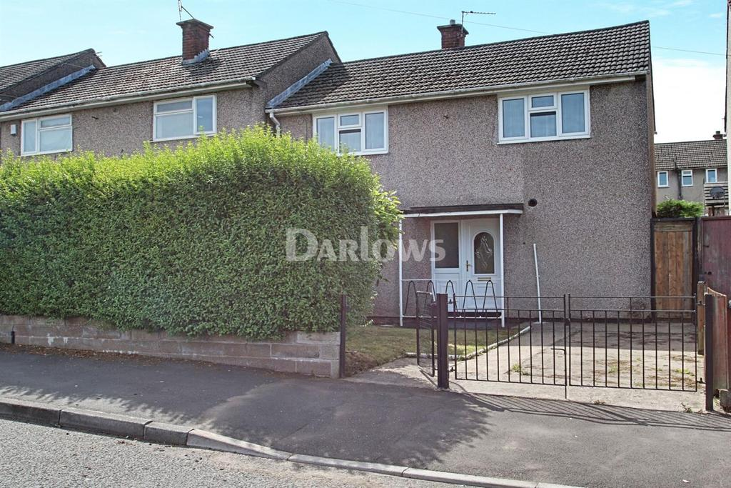 2 Bedrooms End Of Terrace House for sale in Clevedon Road, Llanrumney, Cardiff
