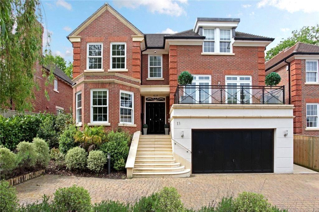 5 Bedrooms Detached House for sale in Pelling Hill, Old Windsor, Windsor, Berkshire, SL4