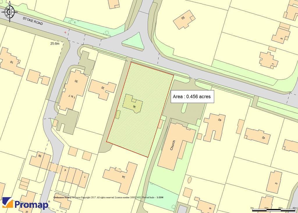 Plot Commercial for sale in Stoke Road, Cobham, Surrey, KT11