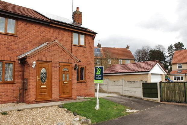 2 Bedrooms Semi Detached House for sale in Fairfield Close, Nether Langwith, Mansfield, NG20