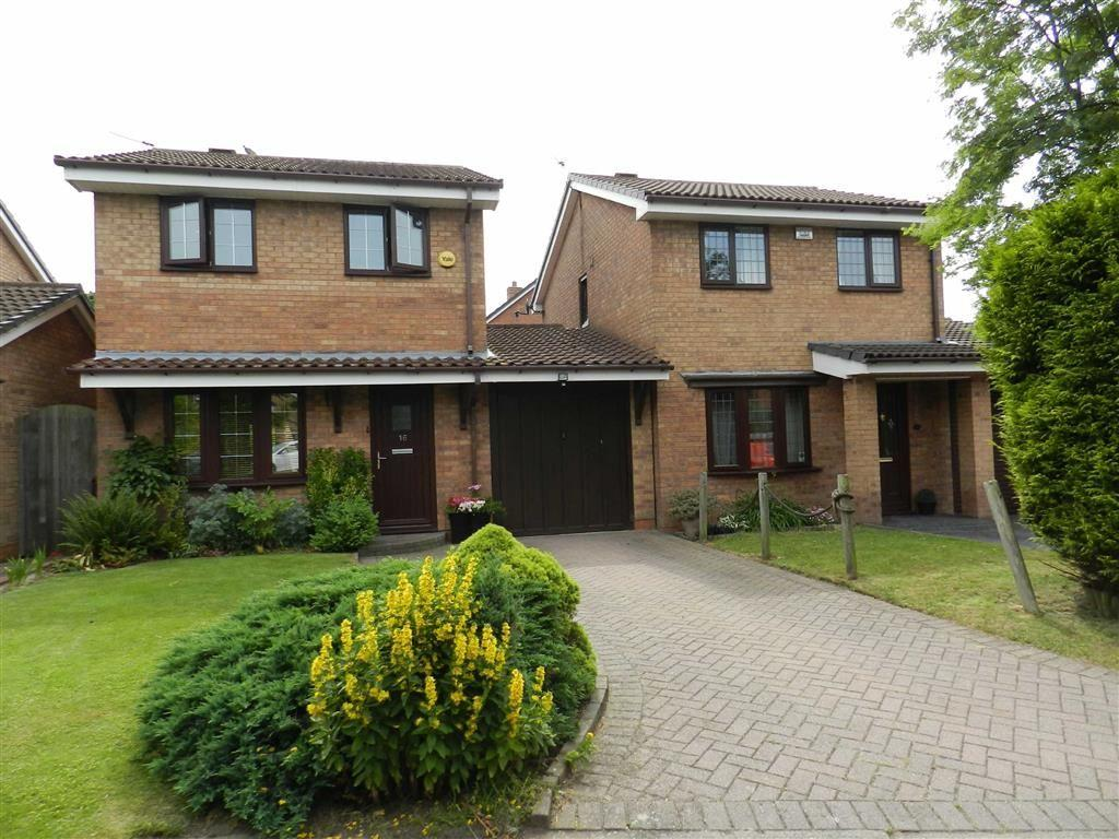 3 Bedrooms Detached House for sale in Churston Close, Bloxwich, Walsall