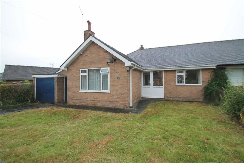 2 Bedrooms Semi Detached Bungalow for sale in Dorset Drive, Wrexham