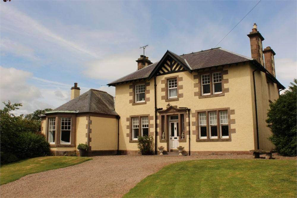 4 Bedrooms Detached House for sale in Kaimflat House, Kelso, Scottish Borders