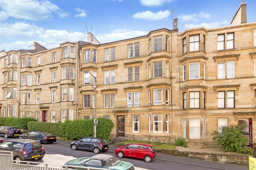 2 Bedrooms Flat for sale in Flat 0/2, 79 Oban Drive, North Kelvinside, Glasgow, G20
